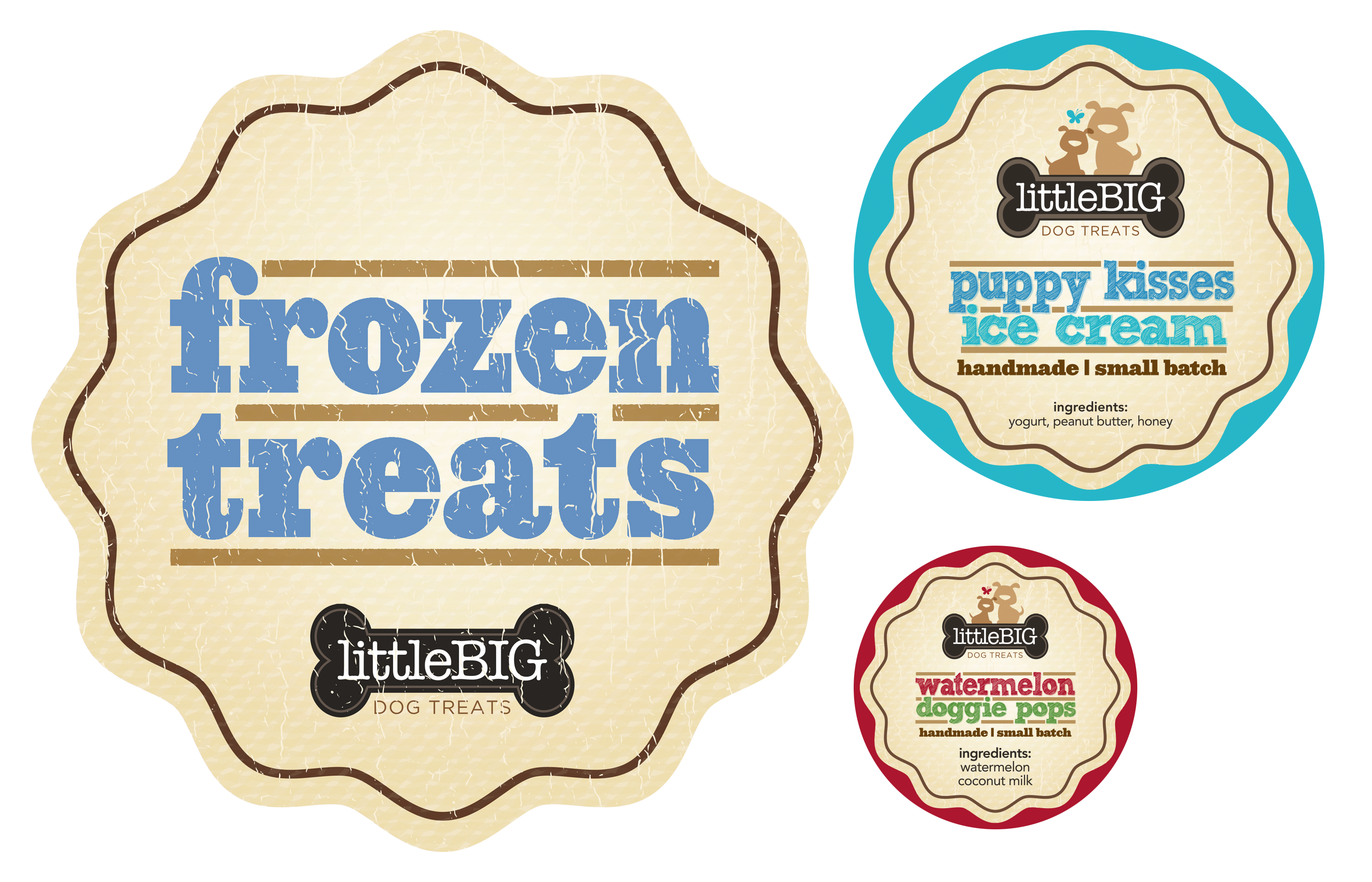 Frozen Treat Labels