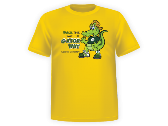 GES Gator Way Shirts 2018-19
