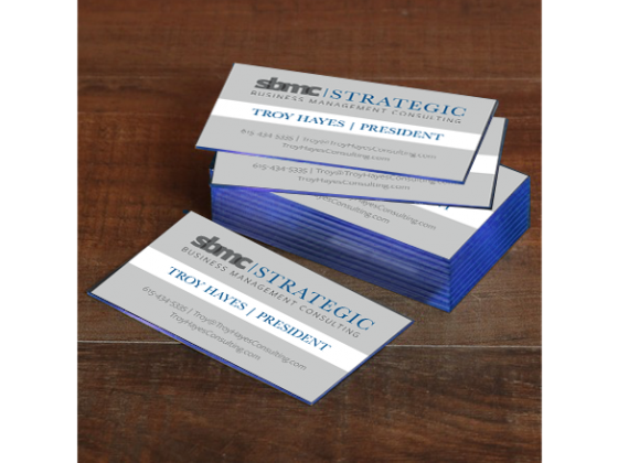 Business Cards, high end, finishing, colored edges, die cut, embossed, more than an card