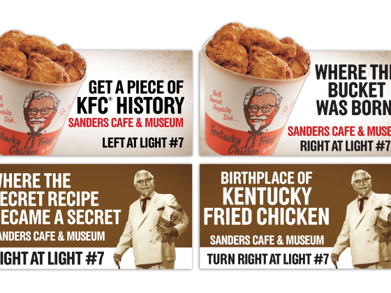 KFC Corbin Billboards
